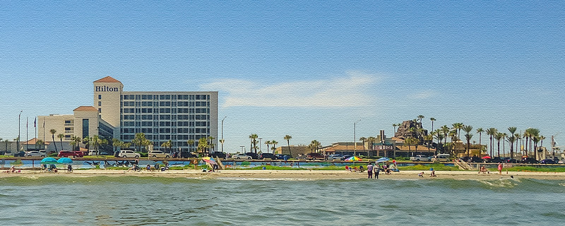 A Galveston View from the Water...Galveston, TX