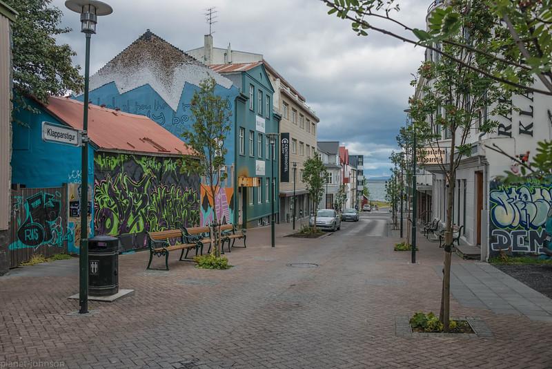 Streets of Reykjavik, Iceland