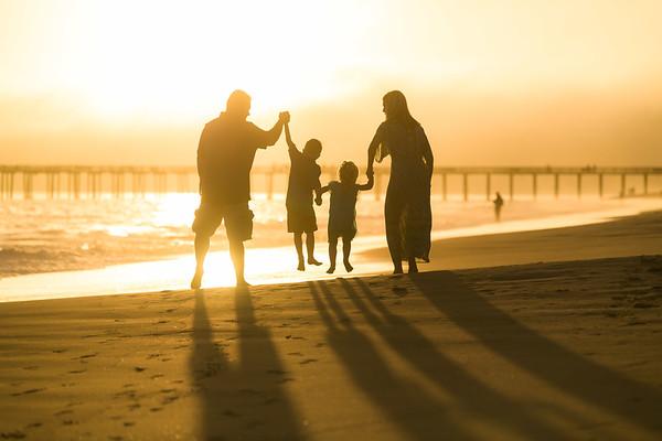 Amanda P Family Portraits - Seacliff Beach / Rio Del Mar