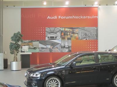 Audi Centre Neckarsulm 2 Aug 10