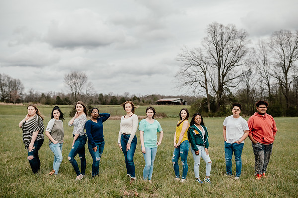 FH Yearbook Staff 19-20