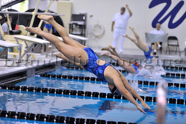 Lincoln-Way East Girls Swimming (2013)