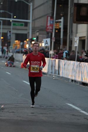 5K Finish - 2013 Detroit Free Press Marathon