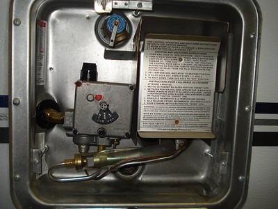 Hot Water Heater and Refrigerator