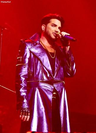 Queen + Adam Lambert, Las Vegas, 9-5-18