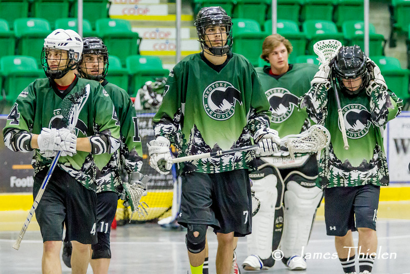 Game, June 22, 2014 Okotoks Marauders vs Calgary Shamrocks
