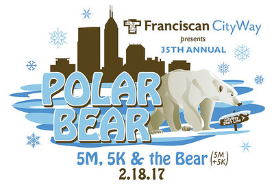 2017 35th Annual Polar Bear 5K, 5M and The Bear