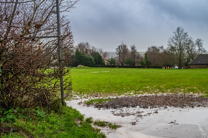 Waterlogged grounds