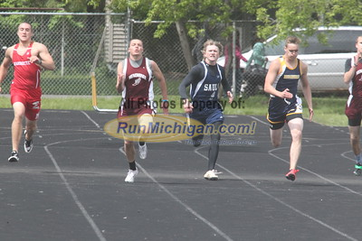 UP Boys' 200 Meter Dash - 2015 MHSAA TF Finals