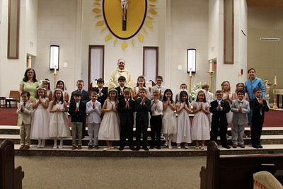 2017 May 6 First Communion