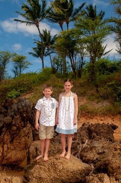 Eiler Family photos-Po'olenalena beach morning