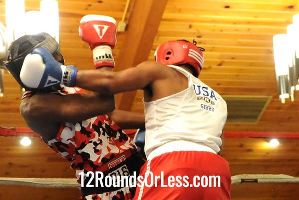 Bout #13 Freddie Wilson, Jr., Cleveland -vs- Durrell Gibbs, Columbus, 165 lbs