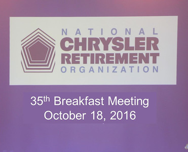 35th Breakfast Meeting October 18, 2016