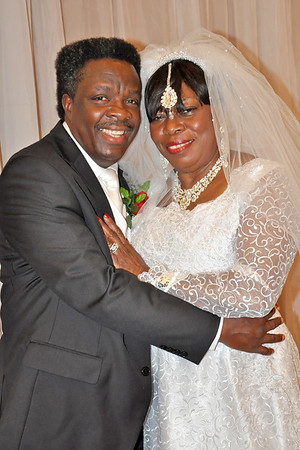 Bishop  Weds Pastor Annie