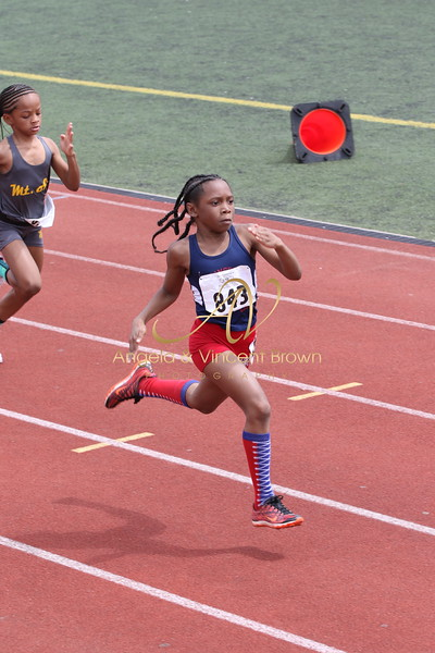 Dev4: 9-10 Girls 100m Trials