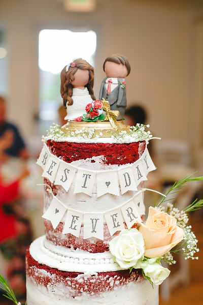 Cake by- Cupcakes! By Julie, cake topper- Josh Wilson
