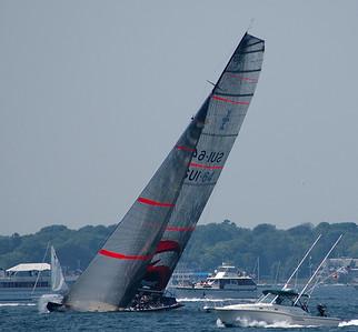 UBS 12 m. Yacht racing - Newport