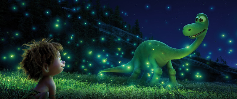 Pixar BFFs over the past 20 years, plus THE GOOD DINOSAUR's Spot and Arlo