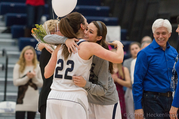 2014-02-22 Hillsdale College Women's Basketball vs. Walsh, Senior Day