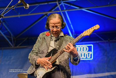 Beverly Guitar Watkins - 2016 King Biscuit Blues Festival CONCERT PHOTOS - 10-08-2016