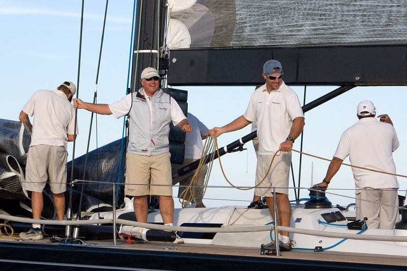 The happy owner and crew.