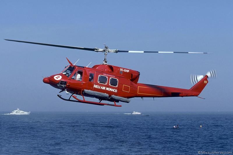 EC-GHP Bell 212 Heli Air Monaco Helisureste @ Monaco 27May01