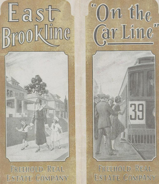 When Brookline (Pittsburgh) was in it's early development stages, the streetcar promised a long lived rapid transit mode, as it turned out it's bus replacement failed to equal the ridership of the streetcars.