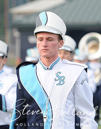 Band - Stone Bridge Marching Bulldogs 9.2.2016 (by Steven Holland)