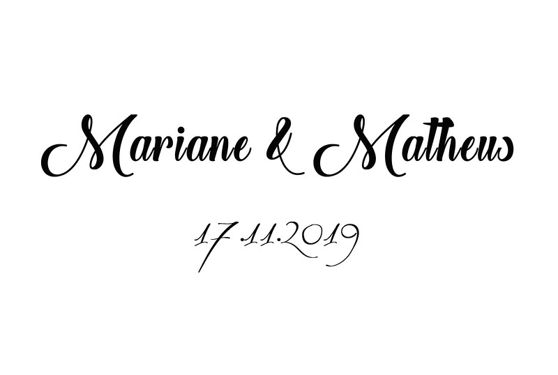 Mariane & Matheus 17.11.2019