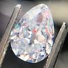 1.03ct Antqiue Pear Shape Diamond, GIA D VS1 12