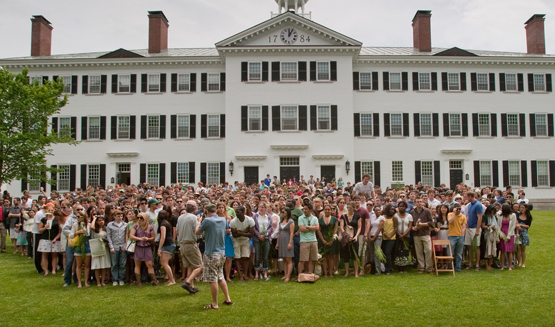 Day 3 - Dartmouth College Class of 2009 in front of Dartmouth Hall
