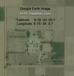 16 PS Rajasthan India - Google Earth view