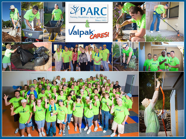 2013 Valpak Day of Caring at PARC