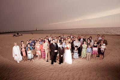Judy & Greg's St. Joseph Beach Wedding