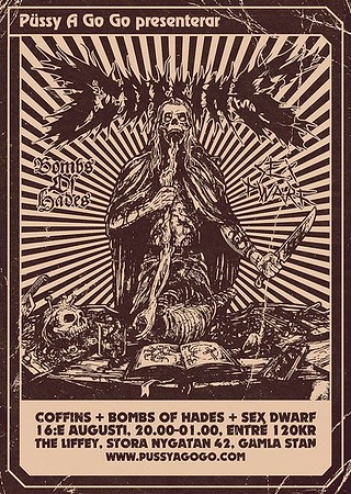 Coffins x 2 - The Liffey 16-17/8 2013