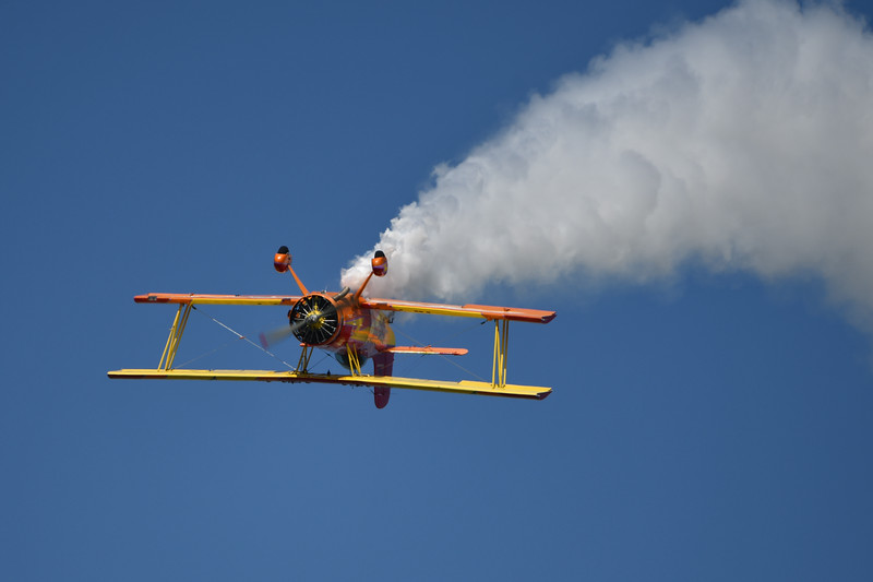 Gene Soucy Samson Biplane