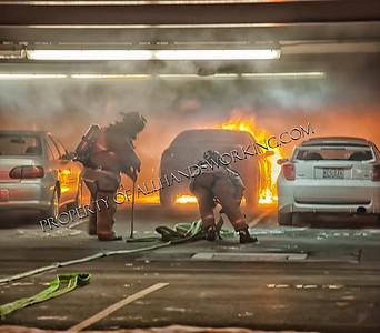 West Haven Car Fire