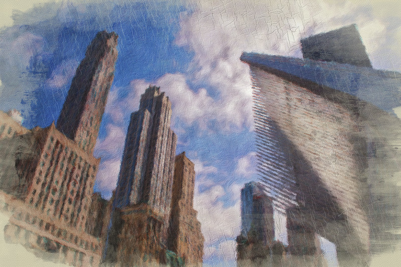 October 5 - New York Skyline, near 9-11 Memorial.jpg