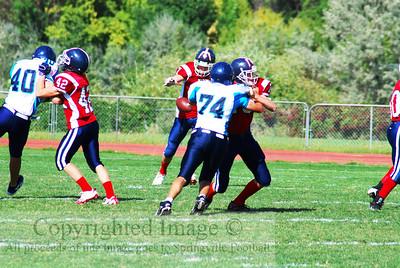 Springville JV vs Juan Diego 9-10-09