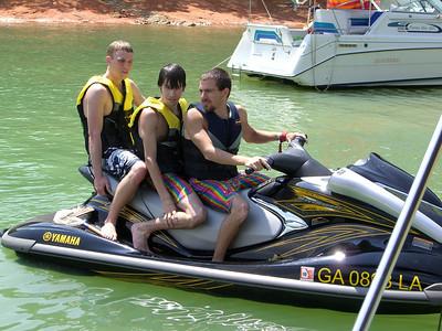 07-21 - Boating - Lake Lanier, GA