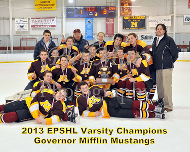 EPSHL Varsity Championship - Governor Mifflin vs Twin Valley