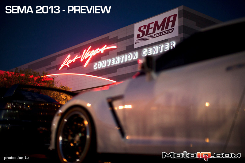 2013 SEMA Show at the Las Vegas Convention Center