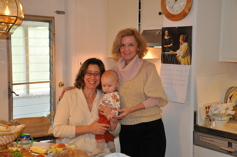 Melissa, Everett & Nonni (Chris' Mom)
