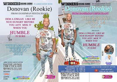 "DONOVAN aka ROOKIE ""WINNERS ROUND ROBIN""(15)"