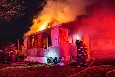 House Fire 300 W Albert - (11/19/20)