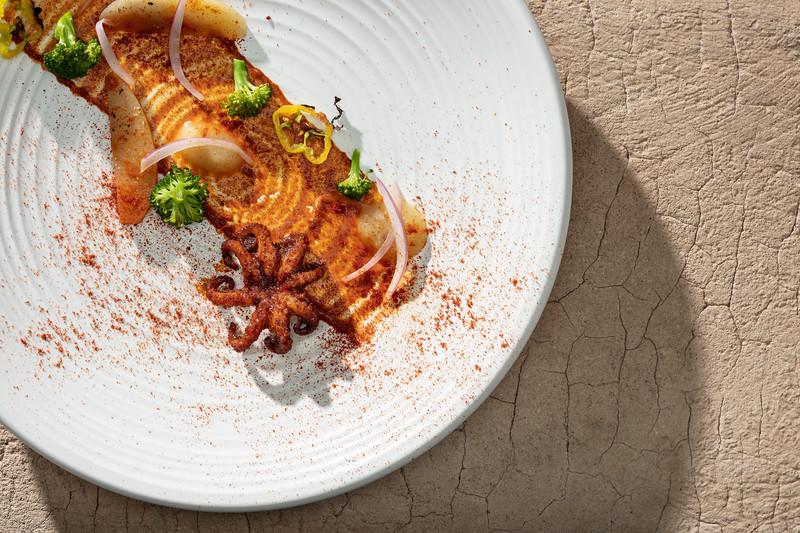 Dish created by Alejandro Kakias in Mérida, Mexico.