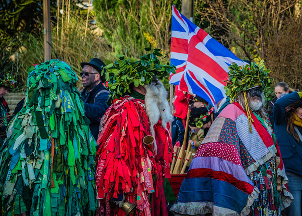 Winterbourne Down Borders Morris 12-26-2016