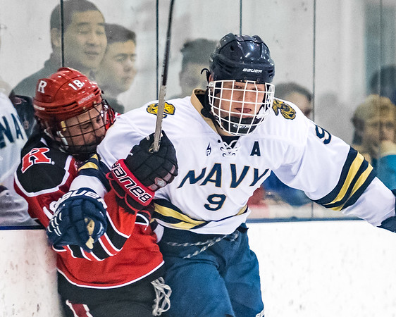 NAVY Men's Ice Hockey vs Rutgers (01/27/2018)