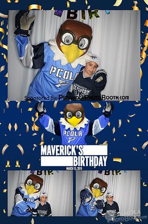 Pensacola Ice Flyers Maverick's Birthday 3-15-2019
