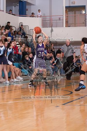 Varsity Girls Basketball 16Jan14